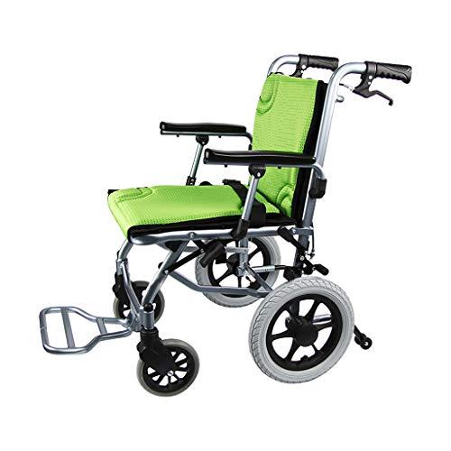 Flashing lights Tragbare Manuelle Rollstuhl Leichte Klapp Alten Warenkorb Wagen Hause Behinderte Roller Aluminiumlegierung Nettogewicht 10 Kg Kann Im Flugzeug Sein -
