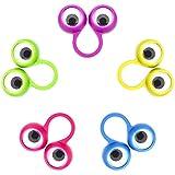 30 Stücke Auge Fingerpuppen Auge auf Ringe Googly Augapfel Ring Party Favor Spielzeug für Kinder, 5 Farben (Kleine Größe)