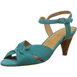Schmoove Damen Pegase Sandal Peep-Toe Pumps, Turquoise (Paon), 37 EU