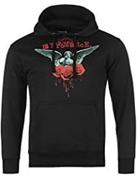My Chemical Romance officielle Bleeding roses Pull à capuche pour homme Noir à capuche