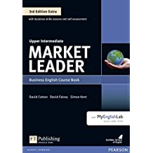 Market Leader Extra Upper Intermediate Coursebook with DVD-ROM and MyEnglishLab Pin Pack