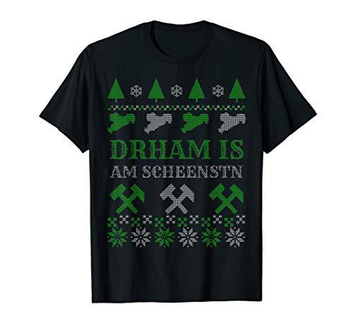 Erzgebirge Heimat Sprüche Zuhause ist am schönsten Sachsen T-Shirt