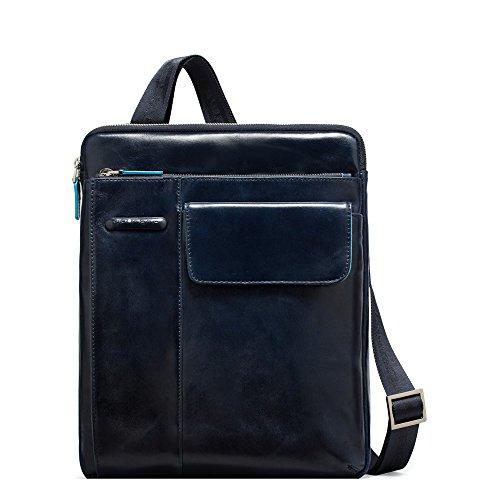 Piquadro CA1815B2 Borsello, Collezione Blu Square, Blu
