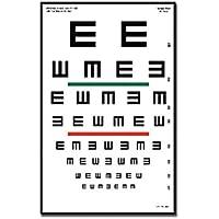 Tableau Optom Trique Tumbling E 23 X 35.5 - 6.1 M