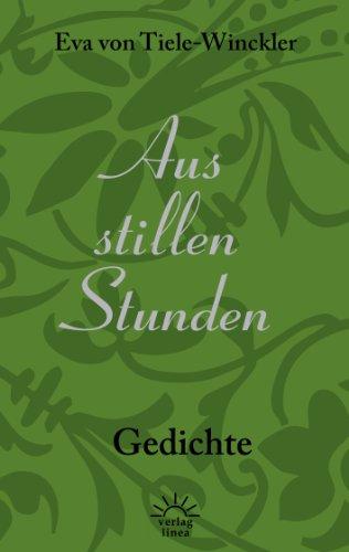 Aus stillen Stunden: Gedichte (German Edition)