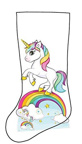 Idea party calza befana unicorno con tantissimi dolciumi cartoni animati