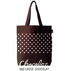 """Rootote Chocolat Grande taille :  Sac Shopping Cabas pour Courses (W x 15,25 x D4 H15.75 """")"""