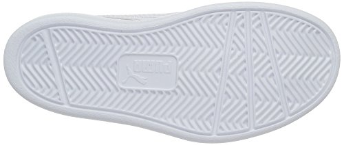 Puma Courtflex Ps, Scarpe da Ginnastica Basse Unisex – Bambini Nero (Black-white)