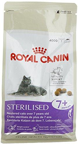 ROYAL CANIN Sterilised +7 secco gatto gr. 400 - Mangimi secchi per gatti