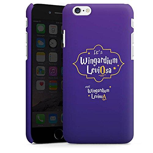 Apple iPhone X Silikon Hülle Case Schutzhülle Wingardium Leviosa Harry Potter Zauberspruch Premium Case matt