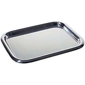 Alessi 5006/37 Tray Rectangle Stainless Steel