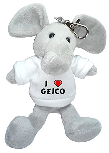 elephant-plush-keychain-with-i-love-geico-first-name-surname-nickname
