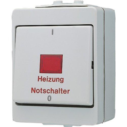 Jung 603HW Heizung-Notschalter aus 3-polig -