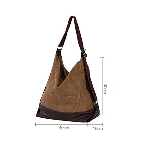 Einfache Handtasche Schulter Diagonale Große Tasche Segeltuchbeutel Beiläufige Beuteldamen Große Kapazität Purple