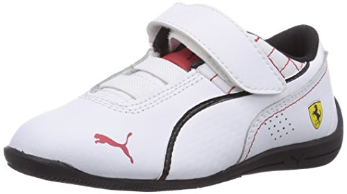 Puma Drift Cat 6 L SF V Kids, Unisex-Kinder Sneakers, Weiß (white-white-black 04), 28 EU (10 Kinder UK) (Puma Kids Form)