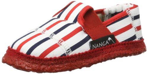 Nanga Miami Unisex-Kinder Flache Hausschuhe Rot (20)