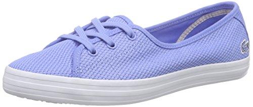 Lacoste Ziane Chunky 216 1, Sneaker Donna Blau (BLU 125)