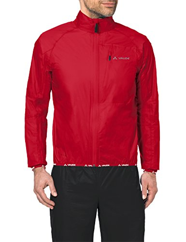 VAUDE Herren Drop Regenjacke III, Rot (Indian red), Gr. XL