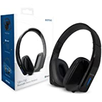 SONiVO® SBH-150 Telecomando Bluetooth Stereo Headset - NERO (Cuffie SENZA FILI Pieghevoli con MICROFONO incorporato) Adatto a tutti i Vivavoce ( Handsfree ) / VOIP / Riproduzione / Registrazione di Dispositivi Audio ( inclusi: MP3 Players / HiFi / DJ Attrezzature / Smart-Phone / Tablet / Computer / ecc. )