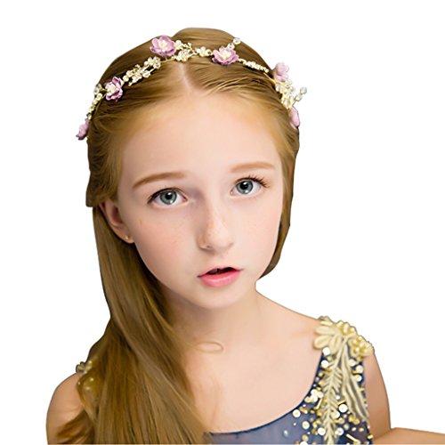 Girlande, Mädchen Crown Kind Mädchen Kopfschmuck Prinzessin Haarband Cinderella Haar Ornamente Nehmen Sie (Cinderella Haar)