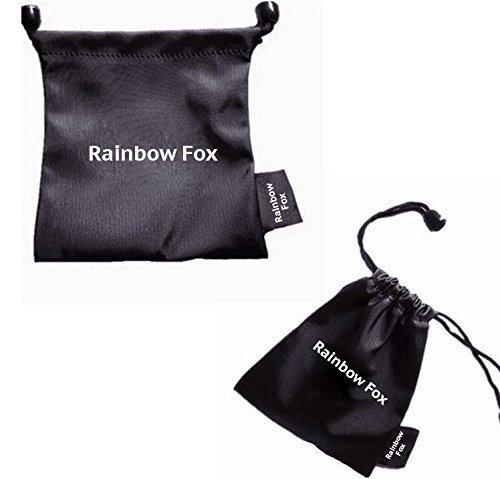 Rainbow Fox White Fantasy Unicorn Soft Plush Slippers Slip-On Adult European Sizes 36 - 41