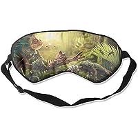 Eye Mask Eyeshade Lizard Rest Sleeping Mask Blindfold Eyepatch Adjustable Head Strap preisvergleich bei billige-tabletten.eu