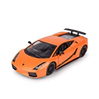 Serie di auto: auto sportivaNome del modello: Lamborghini GallardoTipo di giocattolo: giocattolo di metalloTipo di modello: prodotto finitoMateriale del prodotto: metallo, plastica di alta qualitàEtà applicabile: 8 anni o piùGenere applicabile: masch...
