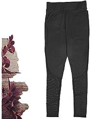 gearfan Casual ropa deportiva pantalones deportivos Gimnasio Entrenamiento Fitness Yoga Leggings pantalones para mujer, M, Negro