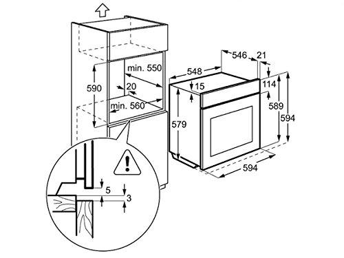 AEG BS8304101M ProCombi Multi-Dampfgarer / Dampf-Backofen / Einbau / 70 Liter / Edelstahl / mit 24 Backofenfunktionen - 2