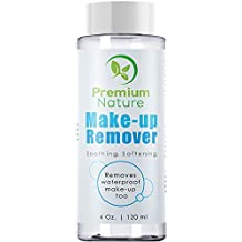 Makeup Remover, All Natural, Oil Free Facial Cleanser, Gentle Wash for Eyes,