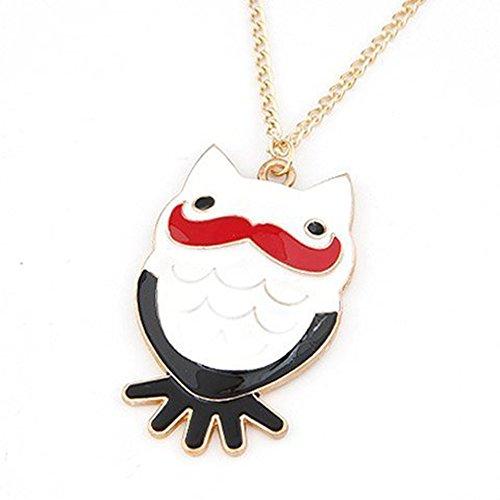 Schnurrbart Cute in Form Anhänger, Halskette B ¨² Ho