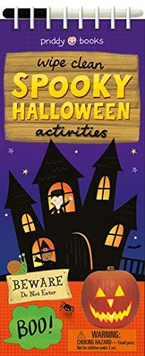 Wipe Clean Spooky Halloween Activities (Wipe Clean Activity -