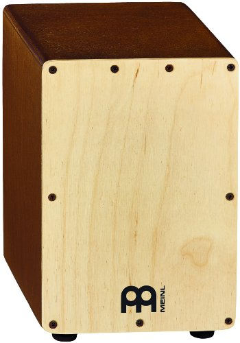 Meinl Percussion SCAJ1LB-NT - Cajón con parche natural, color marrón