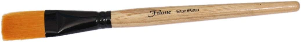 Filone Face Pack Brush, Brown