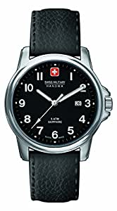 Swiss Military Swiss Soldier Prime Men's Quartz Watch with Black Dial Analogue Display and Black Leather Strap