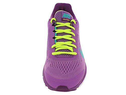 Nike Wmns Zoom Structure+ 17, Scarpe da Corsa Donna Viola/verde-viola-verde (Vlt Shd/Trb Grn-Brght Grp-Vlt)