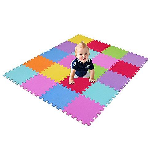 18 dalles de sol en mousse pour enfant tapis d'activité...