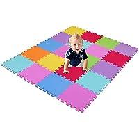 XMTMMD Suelo Para Ninos Y Infantiles EVA Puzzle ColchonetaPara Ninos Y Infantiles EVA Puzzle Colchonetas Puzzle/Rompecabezas para cubrir el suelo (20 piezas) - Play Mat Set - Material espuma