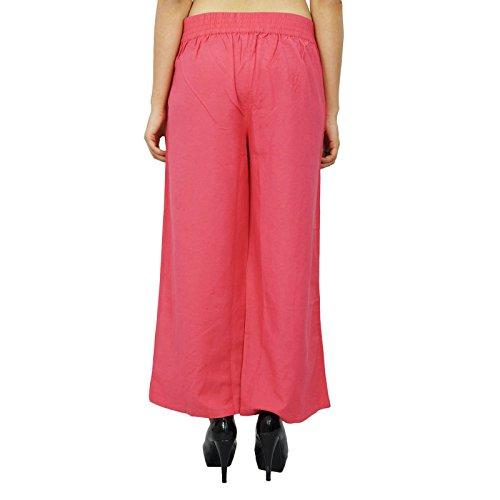 Yoga Pants Boho Hippie Casual Harem Harem femmes des pantalons indiens Saumon
