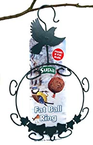 Wild Bird Fat Ball Ring With hook Holds 8 Fat Balls