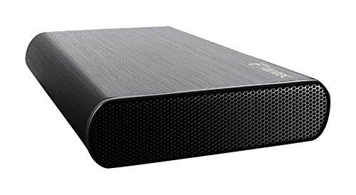 """Fantec DB-AluSky U3-6G Box per Dischi da 3,5"""" con Connessione USB 3.0, SATA III, Nero"""