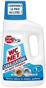 WC Net - Canalisation - Fraîcheur Marine - 1 L