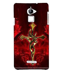 PrintVisa Lord Jesus Sign 3D Hard Polycarbonate Designer Back Case Cover for Coolpad Note 3 Lite :: Coolpad Note 3 Lite Dual SIM