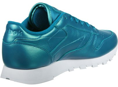 Reebok Classic Leather Pearlized Donna Sneaker Rosa Verde