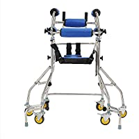 CX ECO Elderly Rehabilitation Auxiliary Forearm Support walker Anti-skid Mobility Support Six Wheeled Rollator Walker with Detachable Padded Seat