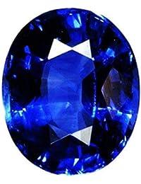 Blue Sapphire Stone Original Certified Best Quality Neelam Gemstone 12.25 Ratti