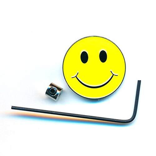 hegibaer Smiley Emoticon Emoji Metall Button Badge Edel Brosche Pin Anstecker 0942+