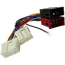 AERZETIX: Adaptador cable enchufe ISO para radio de coche, vehiculos C11926