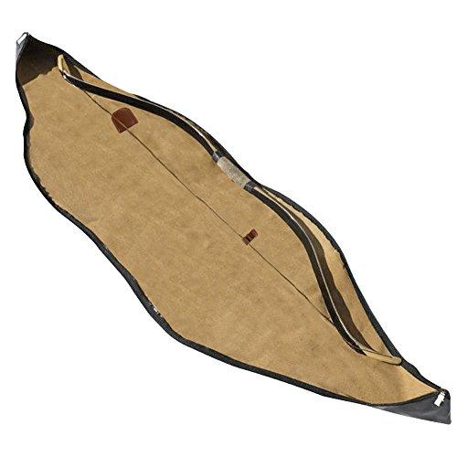 Pellor Bogenschießen Recurve Bogen Fall Tasche Köcher Für Outdoor Jagd Bogenschießen Training Braun