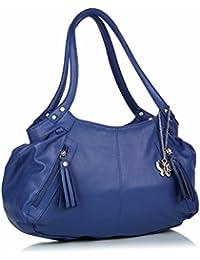 Butterflies Women's Handbag (Blue)(BNS 0226)